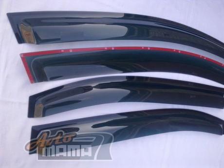 HIC Дефлекторы окон Fiat Scudo/Citroen Jumpy/Peugeot Expert 1995-2007 (вставные) - Картинка 3