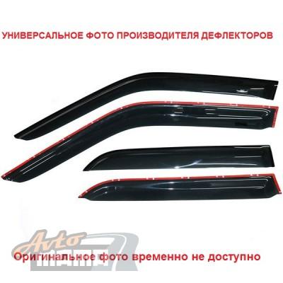 HIC Дефлекторы окон Fiat Scudo/Citroen Jumpy/Peugeot Expert 1995-2007 (вставные) - Картинка 4